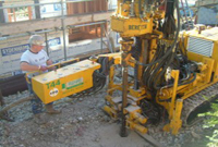 ground heat pump borehole drilling