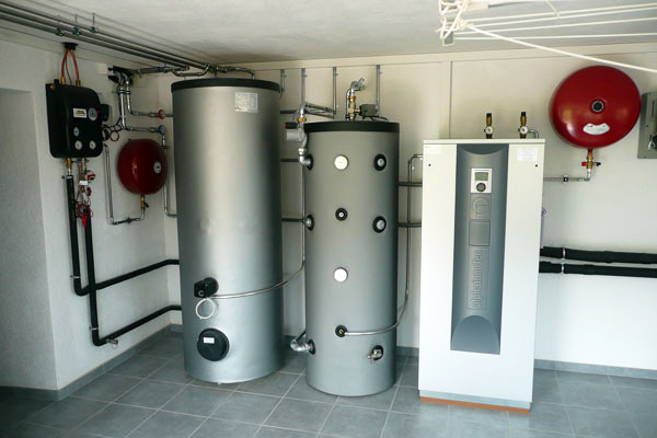 Heat Pumps with buffer tanks