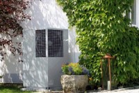 Air source heat pump position