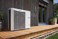Air source heat pump systems