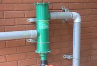 rain harvesting systems filter