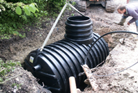 install water harvesting system