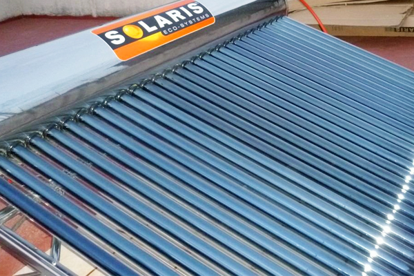 Underfloor Heating with Solar Collectors