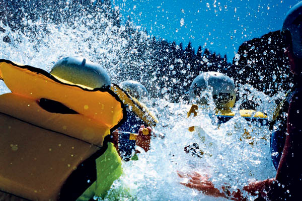 White water rafting holidays in the UK