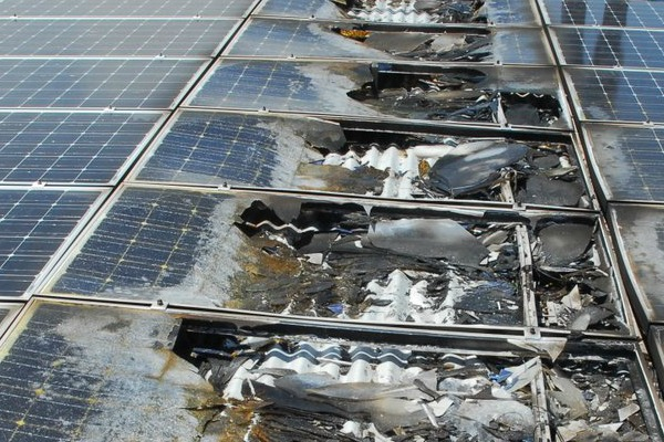 Should I Worry About A Solar Pv Fire Risk The Green Home