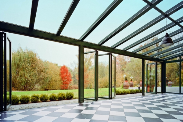 conservatory with underfloor heating