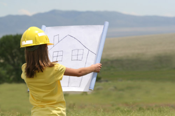 Finding your perfect building plot the green home for Finding a builder