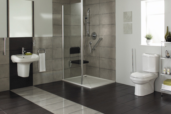 Designing your wetroom the green home for Wet area bathroom ideas