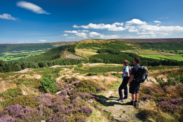 easy walking holidays in stunning scenery