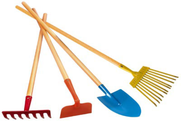 Landscaping tools for digging and excavating the green home for Home and garden equipment