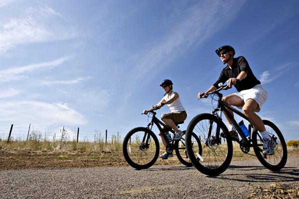 Riders on second hand bikes