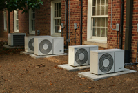 Air source heating systems
