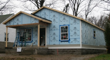 How Exterior Wall Insulation Makes Old Houses Greener The Green Home