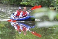 kayaking tour london