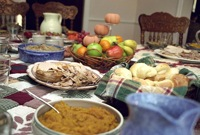 canadian thanksgiving dinner