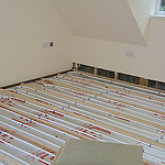 laminate underfloor heating