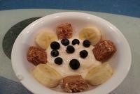 banana and yoghurt