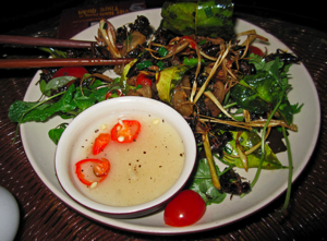 cricket salad Five Facts you Didnt Know about Insects as Food